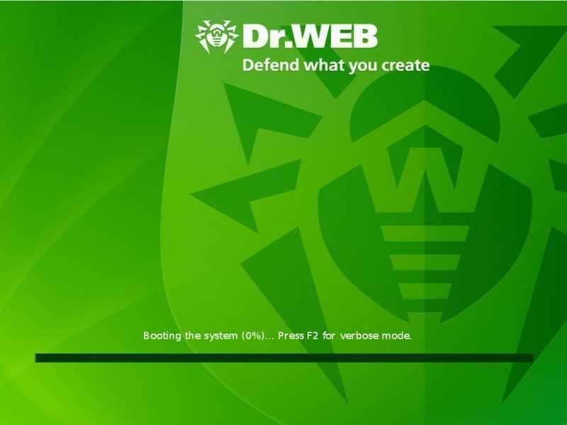 загрузка  Dr.Web LiveCD