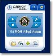 гаджет DAEMON Tools Lite