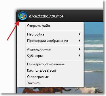Дополнительные настройки Windows Player
