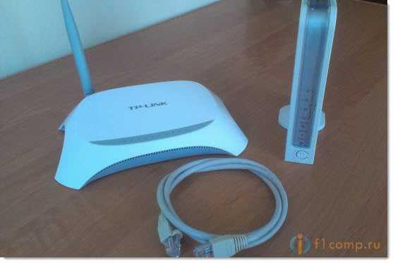 Соединяем два роутера сетевым кабелем