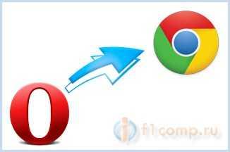 Переносим настойки из Opera в Google Chrom