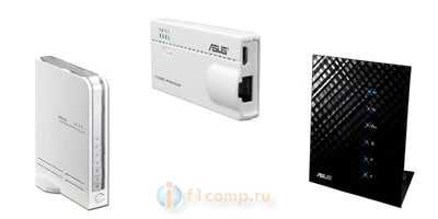 Маршрутизаторы Asus с поддержкой USB модемов