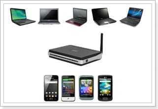 Сколько устройств можно подключить к Wi-F роутеру