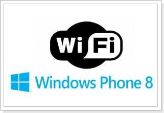 Wi-FI на Windows Phone 8