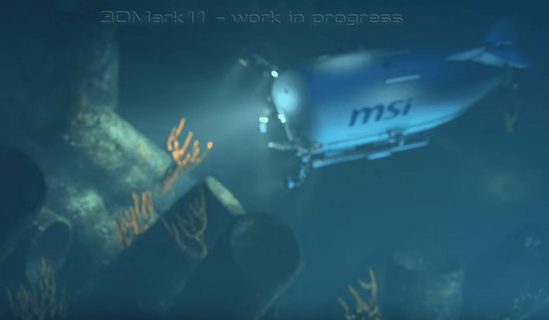 "3DMark, тестовый ролик ""Deep sea"""