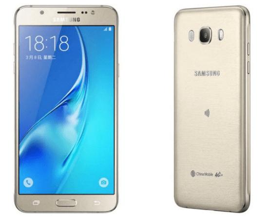 Samsung Galaxy J7 (2016) SM-J710F.