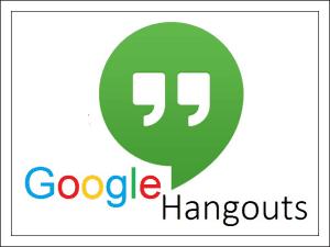Google Hangouts.