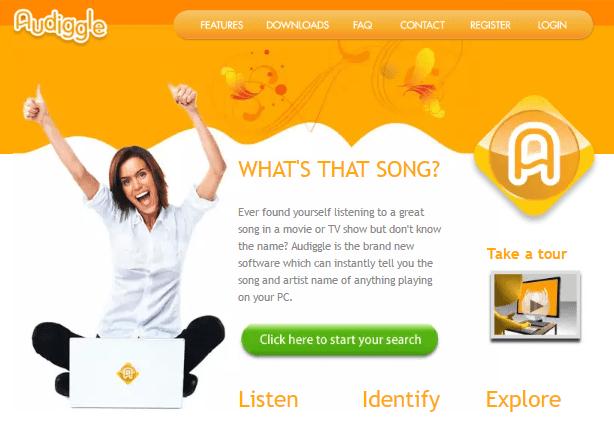 Веб-сервис Audiggle.