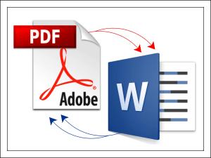 Как перевести PDF в Word.