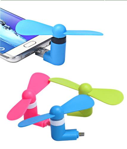 USB-вентилятор для телефона.