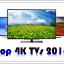 Пятерка лучших 4K телевизоров 2016 года с диагональю от 50 дюймов
