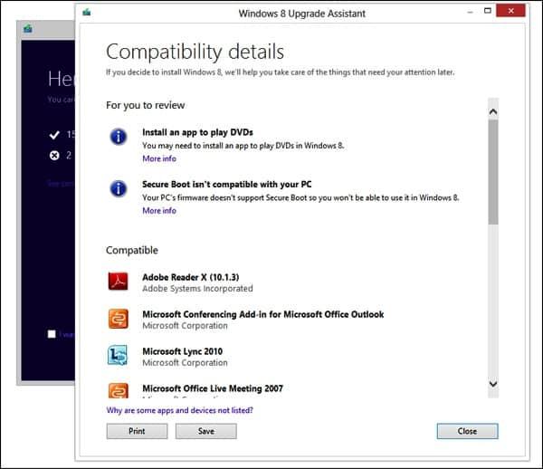 обновление до Windows 8 Pro