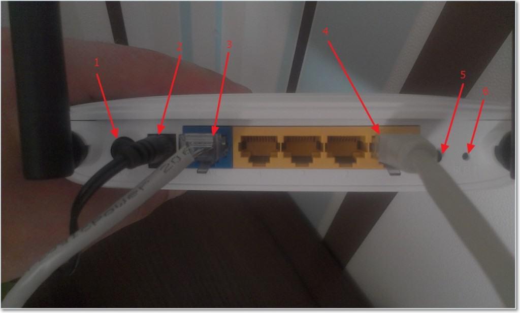 Подключение TP-Link TL-WR841N