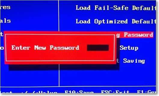 удаляем пароль с BIOS