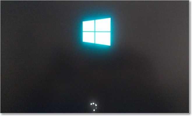 Начало установки Windows 8