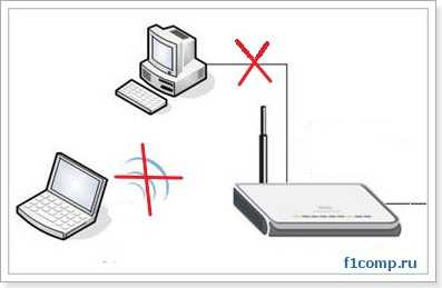 При подключении двух компьютеров к Wi-Fi роутеру не работает интернет
