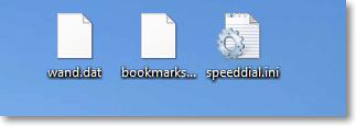 Файлы в которых Опера хранит пароли, закладки и экспресс-панель