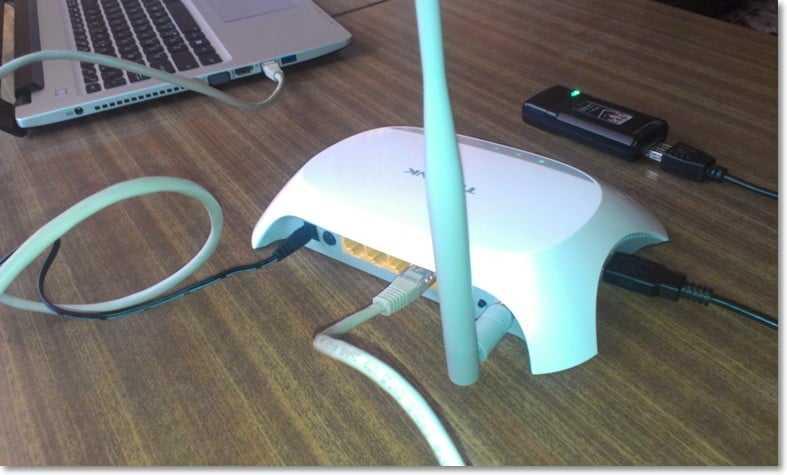 Подключение 3G модема к TL-MR3220