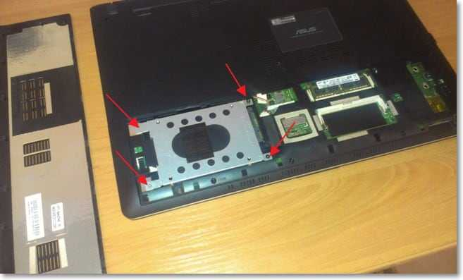 Устанавливаем и прикручиваем SSD в ноутбук