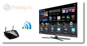 Подключаем телевизор к интернету с помощью Wi-Fi