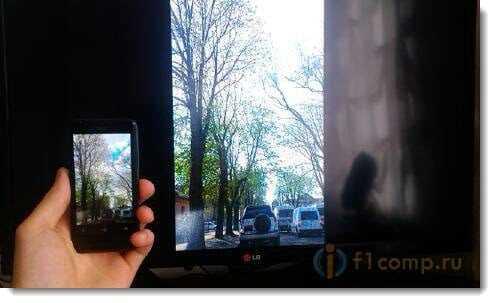 Смотрим Фото с телефона на телевизоре