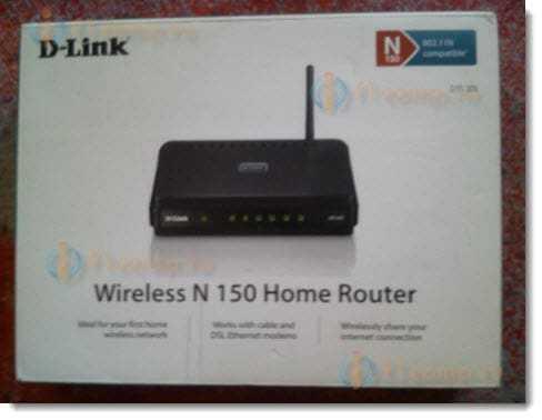 Распаковываем D-Link DIR-300