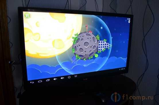 Angry Birds для телевизора