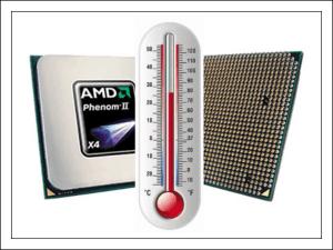 Температура процессора.
