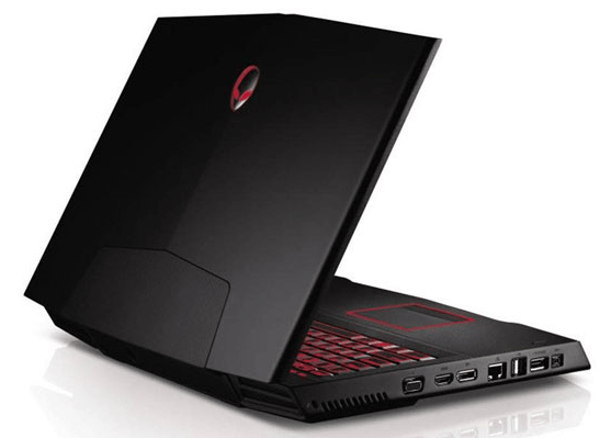 DELL Alienware A15, другой ракурс.