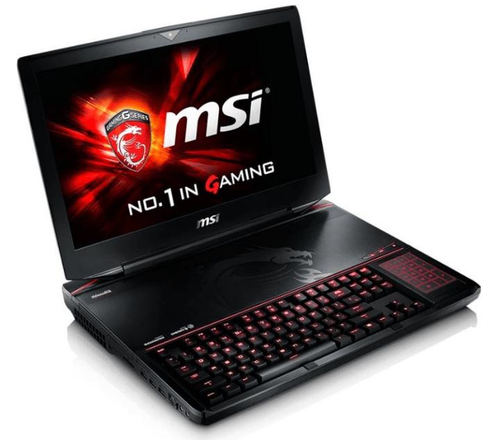 MSI GT80S 6QE Titan SLI.