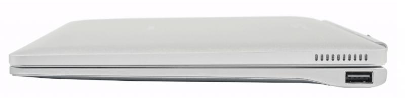 Планшет с клавиатурой вид сбоку.
