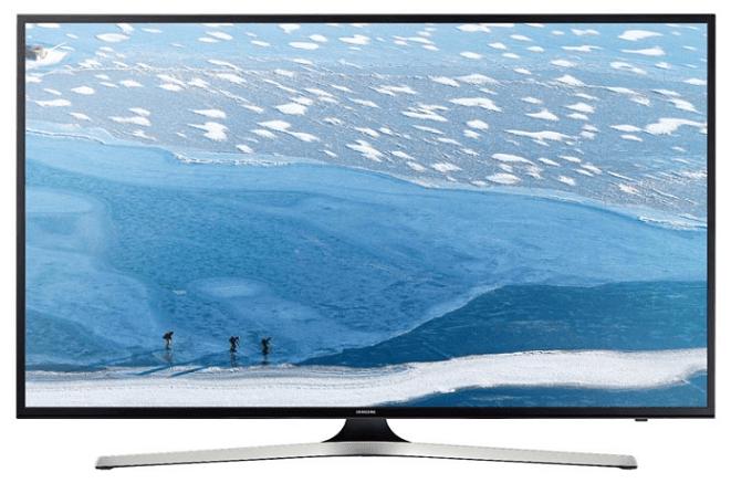 Рейтинг телевизоров 4К 2016 года: Samsung UE50KU6000K.