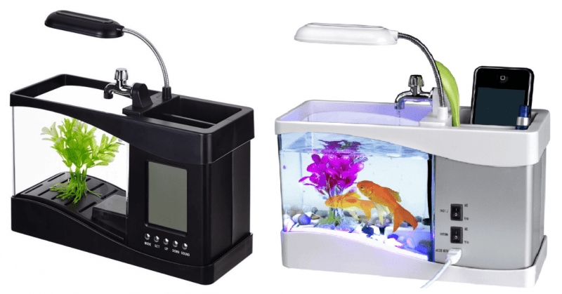 USB-аквариум-органайзер.
