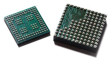 Процессор в корпусе BGA.