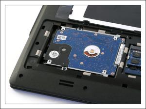 Как заменить жесткий диск на ноутбуке.
