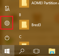 "Открываем ""Параметры"" Windows 10."
