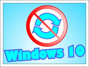 Как отключить обновление Windows 10.
