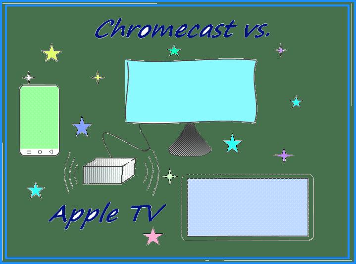 Сравнение Apple TV и Google Chromecast