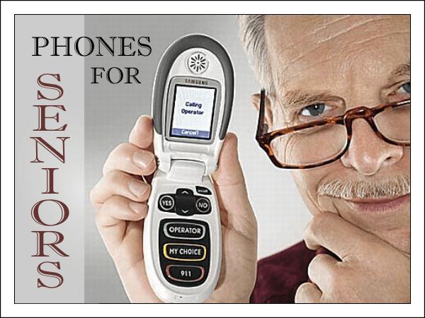 Лучшие телефоны для пожилых людей на начало 2018 года.