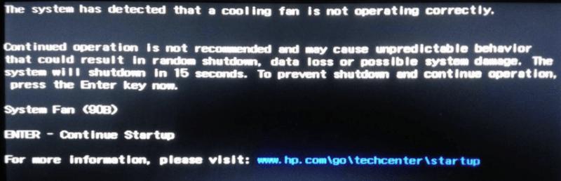 Ошибка System Fan <B90>.&#187; srcset=&#187;https://f1comp.ru/wp-content/uploads/2018/02/2-2.png 857w, https://f1comp.ru/wp-content/uploads/2018/02/2-2-300&#215;97.png 300w, https://f1comp.ru/wp-content/uploads/2018/02/2-2-768&#215;247.png 768w, https://f1comp.ru/wp-content/uploads/2018/02/2-2-750&#215;242.png 750w&#187; sizes=&#187;(max-width: 700px) 100vw, 700px&#187; width=&#187;700&#8243; height=&#187;225&#8243;></p> <ul> <li>Кулер не вращается, хотя при подталкивании рукой крыльчатка легко приходит в движение.</li> <li>Кулер вращается слишком медленно, его скорость не соответствует интенсивности нагрузки на систему. Компьютер выключается от перегрева.</li> <li>Крыльчатка движется рывками с периодическими остановками. Компьютер выключается от перегрева или тормозит.</li> </ul> <h2>Как определить виновника неполадки</h2> <span class=