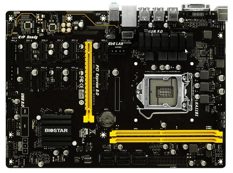 Biostar TB250-BTC PRO.