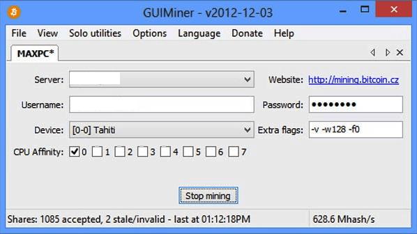 GUIminer.