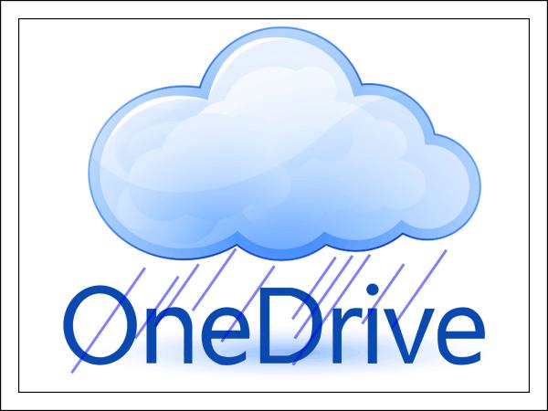 Облачное хранилище OneDrive.