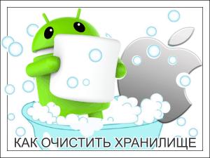 Как освободить хранилище на Android и iOS