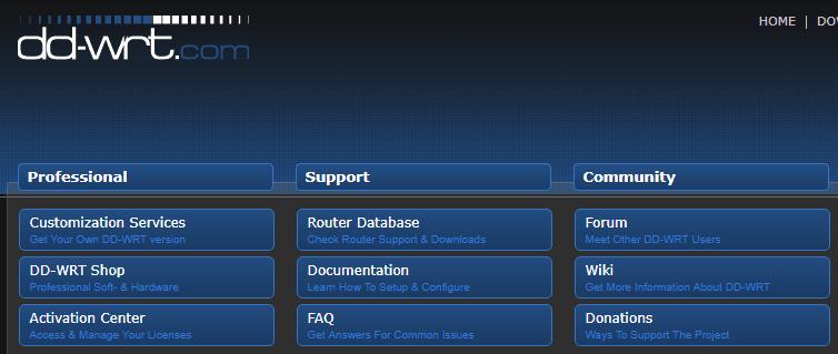 Официальный сайт DD-WRT