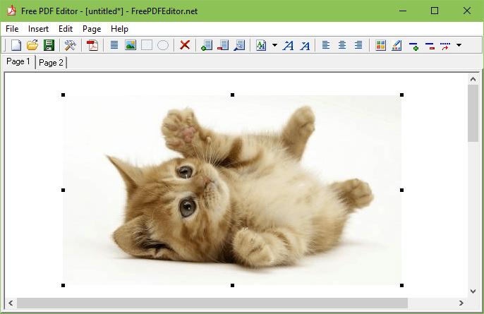 Free PDF Editor.
