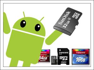 телефон не видит карту памяти microSD или SD.