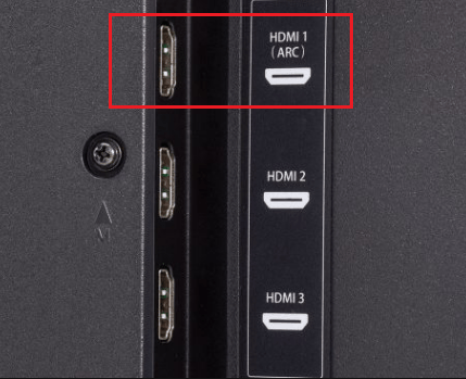 Порт HDMI ARC.