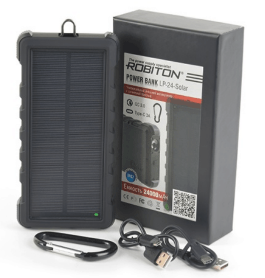 ROBITON Power Bank LP-24-Solar.