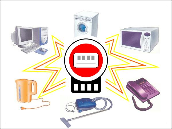 Сколько электричества расходует бытовая техника.